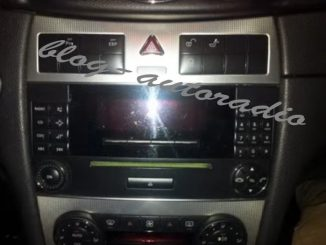 autoradio Mercedes CLK W209