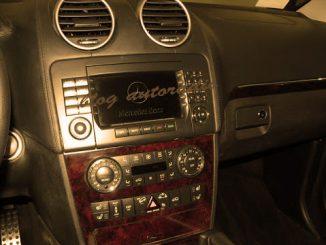 installation autoradio Mercedes Classe GL